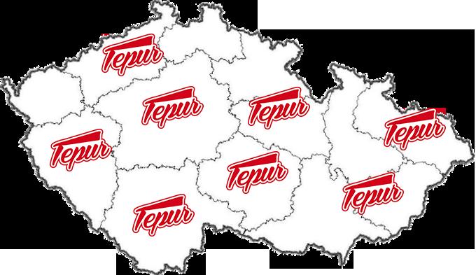 Tepur v České republice